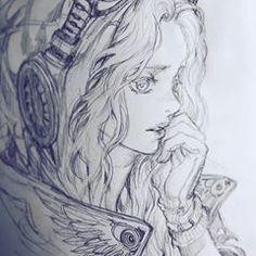 Learn To Draw Manga - Drawing On Demand Manga Drawing, Manga Art, Drawing Sketches, Anime Art, Character Sketches, Character Drawing, Anime Sketch, Animes Wallpapers, Art Sketchbook