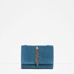 Image 1 of MESSENGER BAG WITH METALLIC DETAIL from Zara