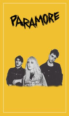 Trio Maxi Poster 61cm x 91.5cm new and sealed Paramore
