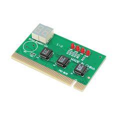 TARJETA PCI TEST  5,23 €  Diseñado para solucionar problemas de arranque del equipo, cuando el PC ni siquiera mostrar la tarjeta de video / pantalla de la BIOS (por lo tanto el código de error / info no está disponible). Características 4 indicadores LED para el estado de alimentación, y un display numérico de 2 dígitos para el código de diagnóstico detallado. PCI ranura de interfaz Plug-and-play. Presentación OEM, sin caja, no incluye nada más que la tarjeta. Puede descargar la tabla de…
