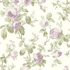 Brewster Home Fashions Claremont Wilda Roselle Trail x Floral Embossed Wallpaper Color: Purple Cream Wallpaper, Wallpaper Stores, Rustic Wallpaper, Botanical Wallpaper, Embossed Wallpaper, Wallpaper Roll, Wallpaper Samples, Chic Wallpaper, Kids Wallpaper