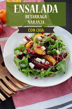 Feta, Cobb Salad, Chia Seeds, Orange, Salads