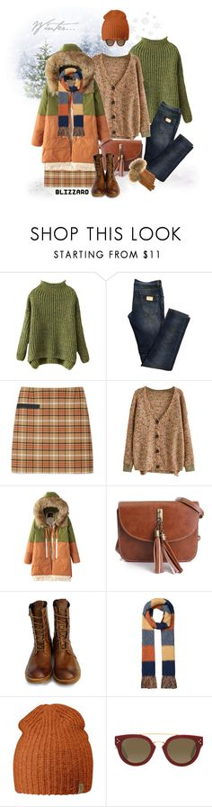 """Brrrrr! Winter Blizzard"" by ysmn-pan ❤ liked on Polyvore featuring Dolce&Gabbana, Tory Burch, Timberland Boot Company, Seasalt, Fjällräven, CÉLINE, FRR, Winter, contest and blizzard"