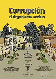 """Estreno del documental """"Corrupción: el organismo nocivo"""" y posterior coloquio en la Sala José Saramago de la FCM"""