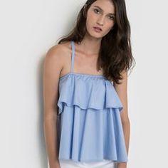 Top à bretelles SOFT GREY - Vêtements