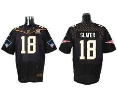 3f6d591f6a9 repjerseys.ru New England Patriots #18 Matthew Slater Black 2016 Pro Bowl  Nike Elite