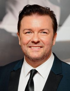 Ricky Gervais lashed out after companies were accused of putting profits before ethics to sell their products to China Funny People, Funny Guys, Funny Men, Laughter The Best Medicine, Ricky Gervais, Celebs, Celebrities, Laughing So Hard, Man Humor