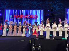 Mondiali OMC HAIR WORLD KOREA 2016: un tripudio di medaglie per i concorrenti A.N.A.M. (Accademia Nazionale Acconciatori Misti)!