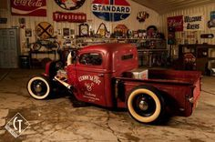 I would love a hot rod pickup like this