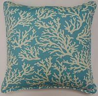 Faylinn Teal Pillow  sea theme pillow for gray palette bedroom
