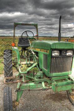 John Deere tractor Tractor home decor John by FengShuiPhotography  #johndeere #tractor
