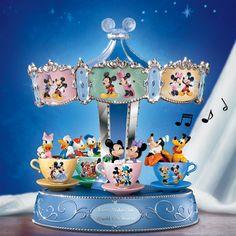 0700320001Disney Teacup Musical Carousel,Disney,The Bradford Exchange,Southern Magnolia