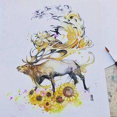 Художник и иллюстратор Лукман Реза или более известный в мире как «jongkie»