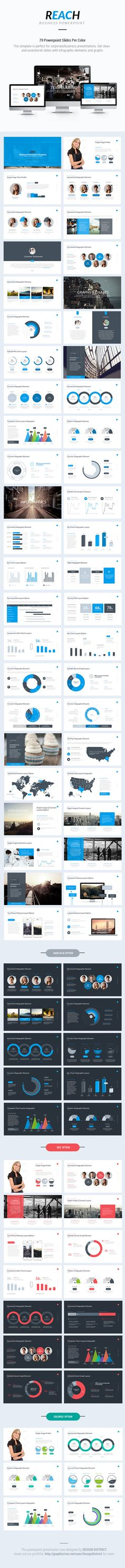 Business PowerPoint Template / Theme / Presentation / Slides / Background / Power Point #powerpoint #template #theme