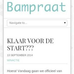 Bampraat is in de lucht!!  #winactie #bam #alleenstaandemoeder #singlemother