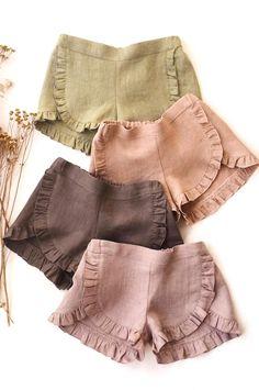 Vintage Kids Clothes, Cute Baby Clothes, Boho Outfits, Kids Outfits, Cute Outfits, Toddler Fashion, Kids Fashion, New Blouse Designs, Girls Pants