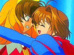 "littlewolf-cherryblossom: "" Cardcaptor Sakura gif challenge - 4) Favourite romance """