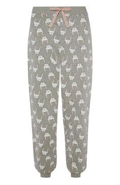 Primark - le Lapin pyjamabroek met boorden