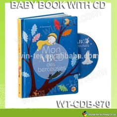WT-CDB-970 high quality children audio books with dvd