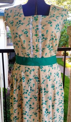 Betty Dress  vintage 1950s reproduction custom by hesitantsmile, $170.00
