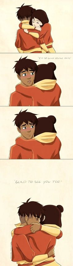 Awww this is the part when Jinora found Kai in the cell.