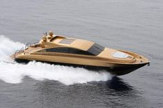 Luxury charter yacht MISTER JINGLES gold hull charter a yacht private yacht vacation yacht holiday
