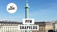 PFW vlogsnap - TV Beauté | Vic Ceridono