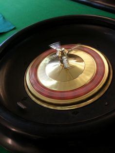 Photo of roulette wheel taken by my friend