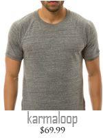 fashion for men gray tee