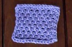 Punto 5 en Crochet Tunecino