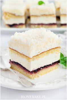 Ciasto łabędzi puch - I Love Bake Vanilla Cake, Baking, Sweet, House, Food, Diet, Candy, Home, Bakken