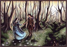 Of Beren and Luthien by ullakko.deviantart.com on @deviantART