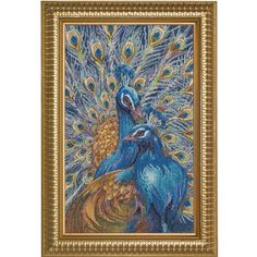 Bucilla Heirloom Peacocks - You Are Unforgettable Counted Cross Stitch Kit for sale online Cross Stitch Bird, Counted Cross Stitch Patterns, Cross Stitch Designs, Cross Stitching, Cross Stitch Embroidery, Embroidery Kits, Stitch Witchery, Needlework Shops, Cross Stitch Pictures