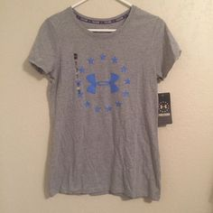 Under Armour tee Fitted tee. Brand new with tags. Under Armour Tops Tees - Short Sleeve