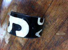 Vintage License Plate Bracelet, regular size, fits most women Recycled Art, Repurposed, Old License Plates, Old Plates, Third, Arts And Crafts, Times, My Style, Bracelets
