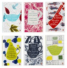 Each book in the series features a beautiful ceramic vessel, that is relevant to the book, the period it was written in, and the kitchen implements used for the recipes in the book.