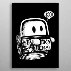 Astro Ghost by Krisren Twentyeight Wall Art Prints, Canvas Prints, Porsche Logo, Canvas Art, Wall Decor, Posters, Fine Art, Metal, Shirt
