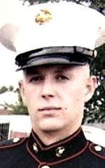 Marine LCpl Andrew F. Whitacre, 21, of Bryant, Indiana. Died June 19, 2008, serving during Operation Enduring Freedom. Assigned to 2nd Battalion, 7th Marine Regiment, 1st Marine Division, I Marine Expeditionary Force, Twentynine Palms, California. Died of injuries sustained from hostil fire during combat operations in Farah Province, Afghanistan.