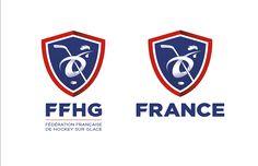 Logo FFHG / Fédération Française de Hockey sur Glace