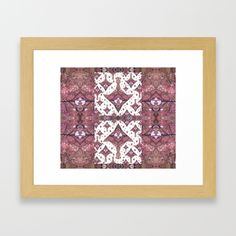 Planes made from Tree Leaves Photo 801 Fractal Framed Art Print