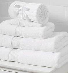 Have the White Towels - embellish with navy/mint