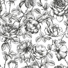 Papel de Parede Floral 1282