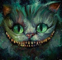 *CHESHIRE CAT ~ Alice nel Paese delle Meraviglie Fan Art