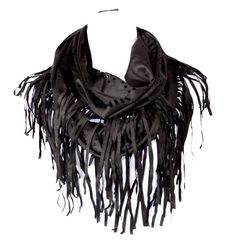 """Faux Suede Infinity Scarf. Super fun & spectacular! Soft faux suede! 100% polyester. 31"""" by 18"""". There are no marks or defects of any type unless otherwise stated. 