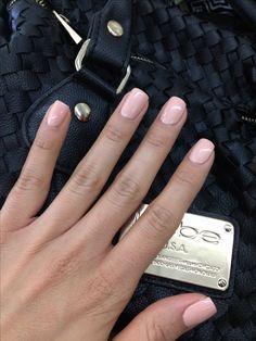 Peachy nude nails. Forever beauty harmony gellish