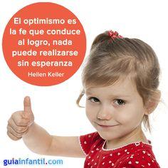¡Para empezar el día con buen pie, un poco de optimismo! http://www.guiainfantil.com/articulos/educacion/valores/el-optimismo-en-los-ninos-educar-en-valores/