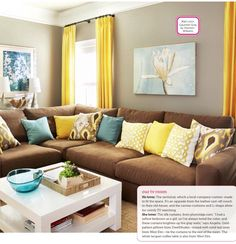 Living Room - HGTV Magazine