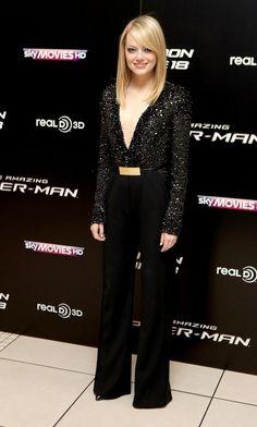 Emma Stone Photos Photos - 'The Amazing Spider-Man' premieres in London - Zimbio