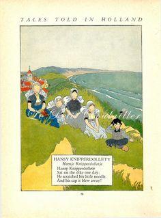 Miska Petersham 1927 Dutch Fairy Tale Lithographs