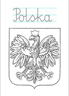 Do it with your child. Learn Polish, Poland History, Activities For Kids, Crafts For Kids, Polish Language, Montessori Materials, Teaching English, Kids And Parenting, Adult Coloring